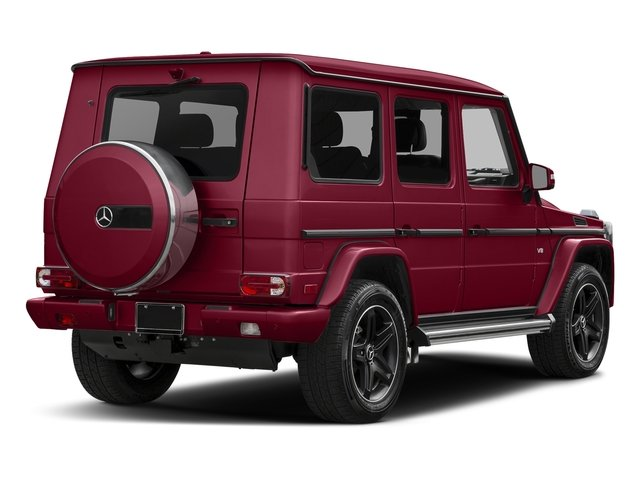 Storm Red Metallic 2016 Mercedes-Benz G-Class Pictures G-Class 4 Door Utility 4Matic photos rear view