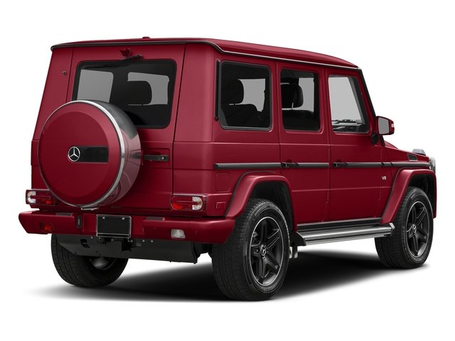 Mars Red 2016 Mercedes-Benz G-Class Pictures G-Class 4 Door Utility 4Matic photos rear view
