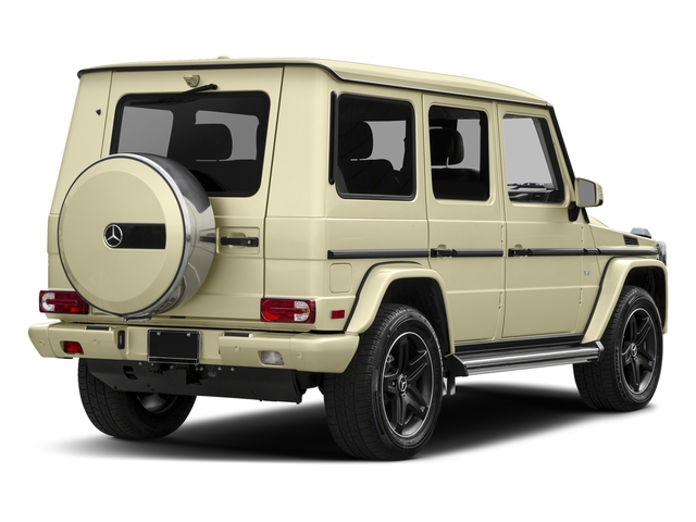 Light Ivory 2016 Mercedes-Benz G-Class Pictures G-Class 4 Door Utility 4Matic photos rear view