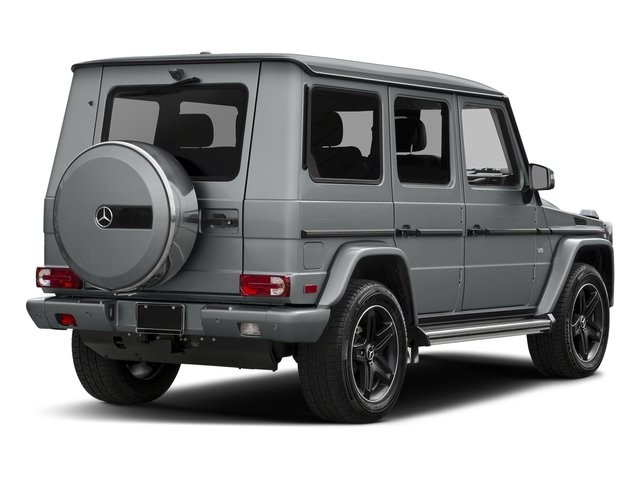 Iridium Silver Metallic 2016 Mercedes-Benz G-Class Pictures G-Class 4 Door Utility 4Matic photos rear view