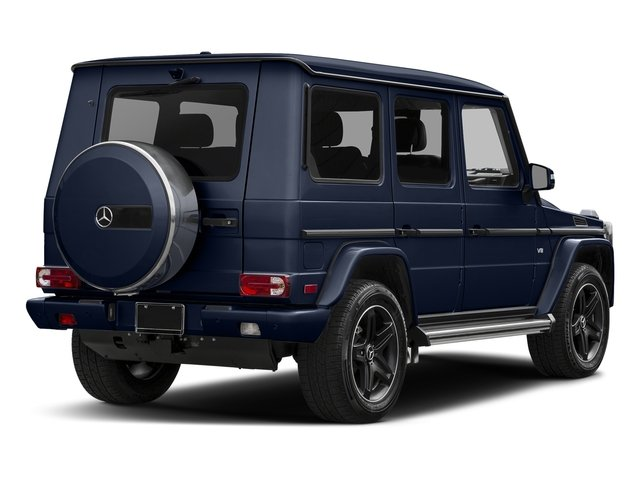 Midnight Blue 2016 Mercedes-Benz G-Class Pictures G-Class 4 Door Utility 4Matic photos rear view