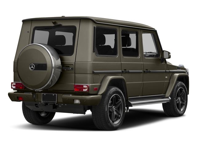 Indium Gray Metallic 2016 Mercedes-Benz G-Class Pictures G-Class 4 Door Utility 4Matic photos rear view