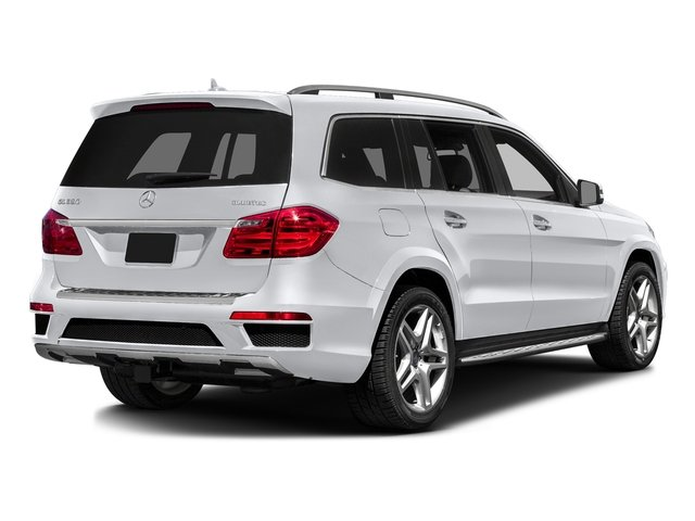 Polar White 2016 Mercedes-Benz GL Pictures GL Utility 4D GL350 BlueTEC 4WD V6 photos rear view