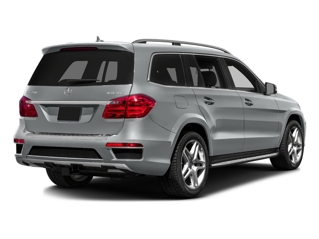 Iridium Silver Metallic 2016 Mercedes-Benz GL Pictures GL Utility 4D GL350 BlueTEC 4WD V6 photos rear view