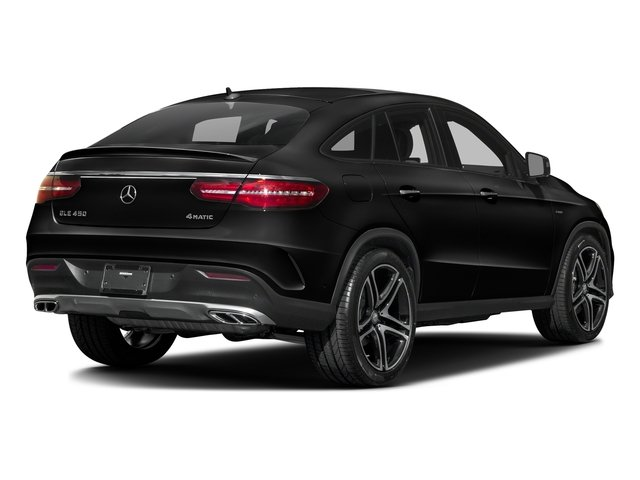 Obsidian Black Metallic 2016 Mercedes-Benz GLE Pictures GLE Utility 4D GLE450 Sport Coupe AWD V6 photos rear view
