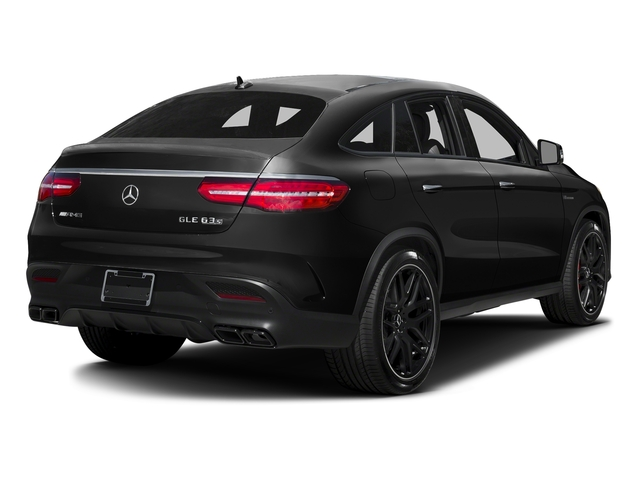 Obsidian Black Metallic 2016 Mercedes-Benz GLE Pictures GLE Utility 4D GLE63 AMG S Sport Cpe AWD photos rear view