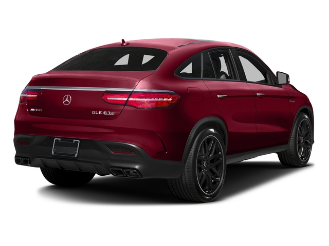 designo Cardinal Red Metallic 2016 Mercedes-Benz GLE Pictures GLE Utility 4D GLE63 AMG S Sport Cpe AWD photos rear view
