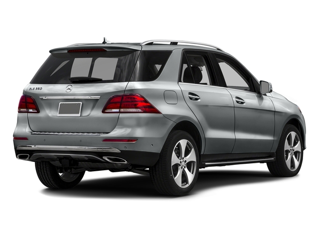 Iridium Silver Metallic 2016 Mercedes-Benz GLE Pictures GLE Utility 4D GLE350 AWD V6 photos rear view