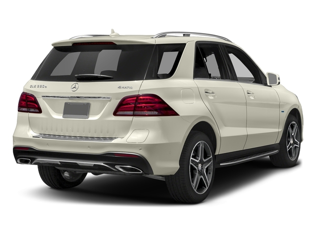 Polar White 2016 Mercedes-Benz GLE Pictures GLE Utility 4D GLE550 Plug-In AWD V6 photos rear view