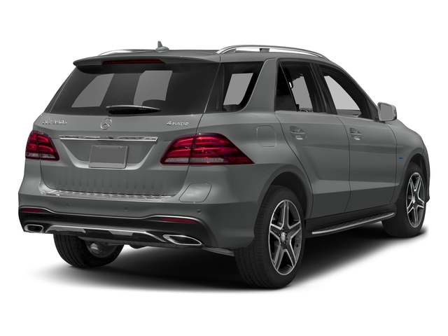 Palladium Silver Metallic 2016 Mercedes-Benz GLE Pictures GLE Utility 4D GLE550 Plug-In AWD V6 photos rear view