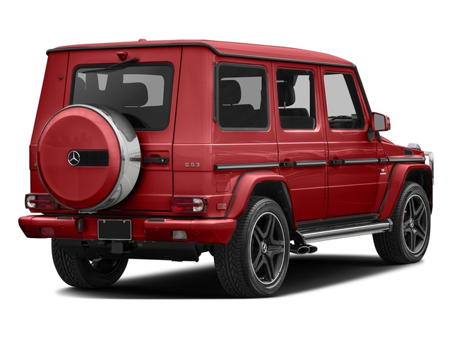 Tomato Red 2016 Mercedes-Benz G-Class Pictures G-Class 4 Door Utility 4Matic photos rear view