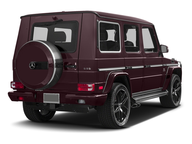 designo Mystic Red 2016 Mercedes-Benz G-Class Pictures G-Class 4 Door Utility 4Matic photos rear view