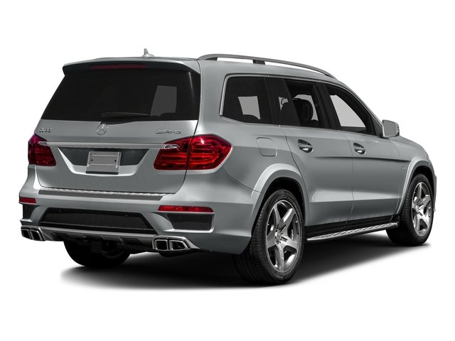 Iridium Silver Metallic 2016 Mercedes-Benz GL Pictures GL Utility 4D GL63 AMG 4WD V8 photos rear view