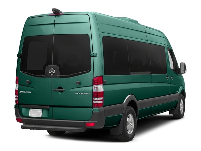 Solar Green 2016 Mercedes-Benz Sprinter Passenger Vans Pictures Sprinter Passenger Vans Extended Passenger Van High Roof photos rear view
