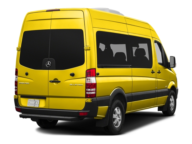 Broom Yellow 2016 Mercedes-Benz Sprinter Passenger Vans Pictures Sprinter Passenger Vans Passenger Van photos rear view