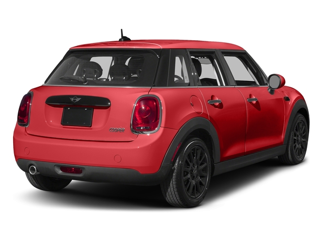 Chili Red 2016 MINI Cooper Hardtop 4 Door Pictures Cooper Hardtop 4 Door Wagon 4D I3 Turbo photos rear view