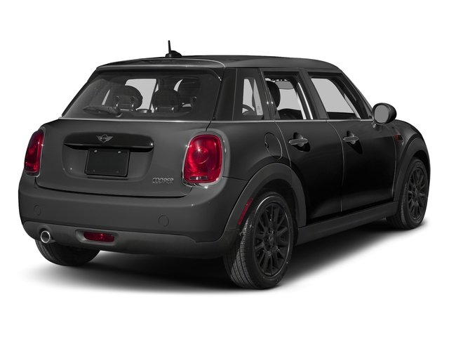 Midnight Black Metallic 2016 MINI Cooper Hardtop 4 Door Pictures Cooper Hardtop 4 Door Wagon 4D I3 Turbo photos rear view