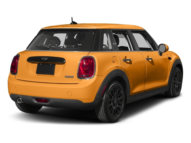 Volcanic Orange 2016 MINI Cooper Hardtop 4 Door Pictures Cooper Hardtop 4 Door Wagon 4D I3 Turbo photos rear view