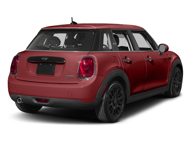 Blazing Red Metallic 2016 MINI Cooper Hardtop 4 Door Pictures Cooper Hardtop 4 Door Wagon 4D I3 Turbo photos rear view