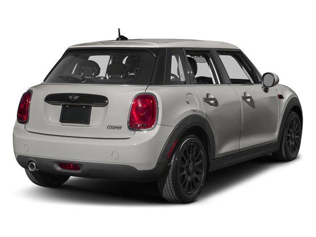 Melting Silver Metallic 2016 MINI Cooper Hardtop 4 Door Pictures Cooper Hardtop 4 Door Wagon 4D I3 Turbo photos rear view