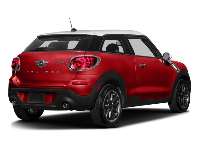 Chili Red 2016 MINI Cooper Paceman Pictures Cooper Paceman Coupe 2D Paceman JCW AWD I4 Turbo photos rear view