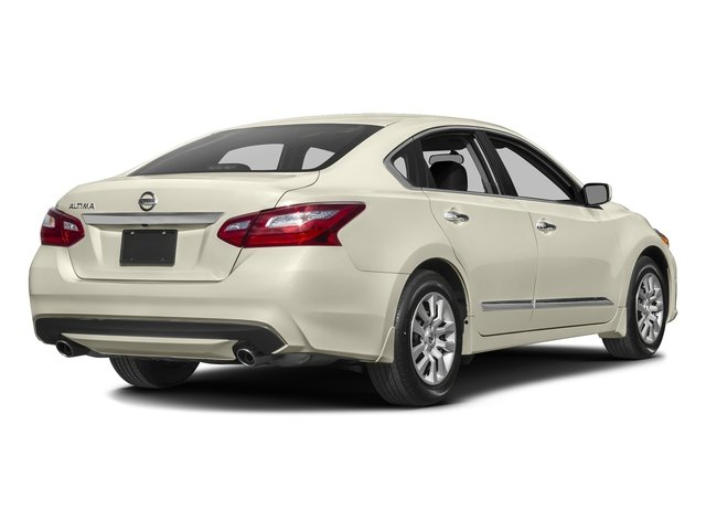 Pearl White 2016 Nissan Altima Pictures Altima Sedan 4D SV I4 photos rear view