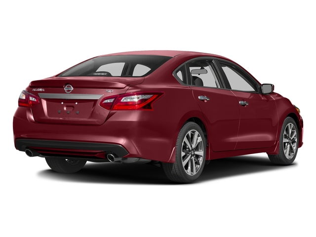 Cayenne Red 2016 Nissan Altima Pictures Altima Sedan 4D SR V6 photos rear view