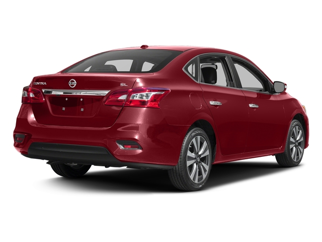 Cayenne Red Pearl Metallic 2016 Nissan Sentra Pictures Sentra Sedan 4D SL I4 photos rear view