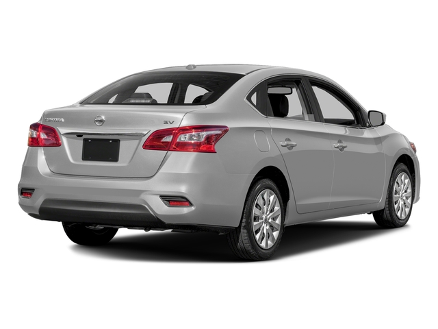 Brilliant Silver Metallic 2016 Nissan Sentra Pictures Sentra Sedan 4D SV I4 photos rear view