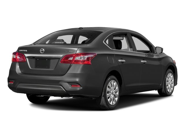 Gun Metallic 2016 Nissan Sentra Pictures Sentra Sedan 4D SV I4 photos rear view