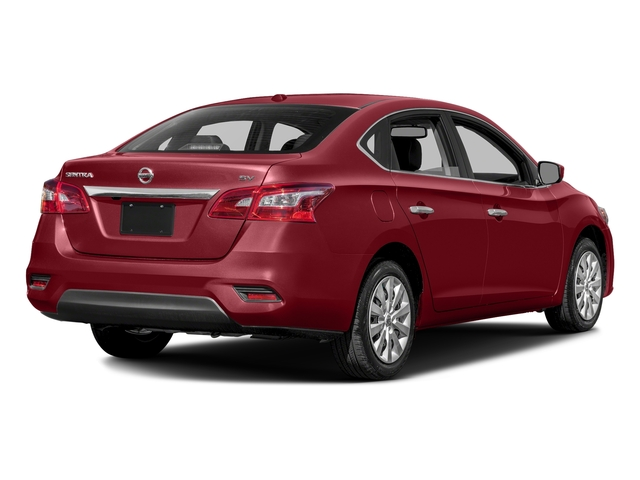 Cayenne Red Pearl Metallic 2016 Nissan Sentra Pictures Sentra Sedan 4D SV I4 photos rear view