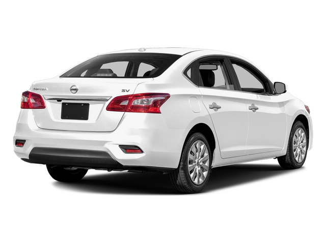 Aspen White Pearl 2016 Nissan Sentra Pictures Sentra Sedan 4D SV I4 photos rear view