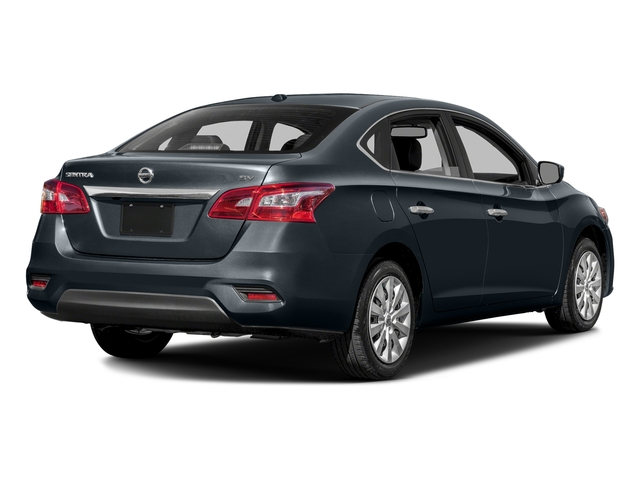 Graphite Blue Metallic 2016 Nissan Sentra Pictures Sentra Sedan 4D SV I4 photos rear view