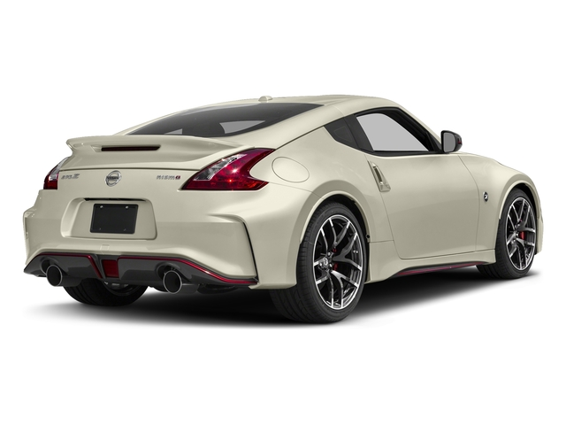 Pearl White 2016 Nissan 370Z Pictures 370Z Coupe 2D NISMO V6 photos rear view