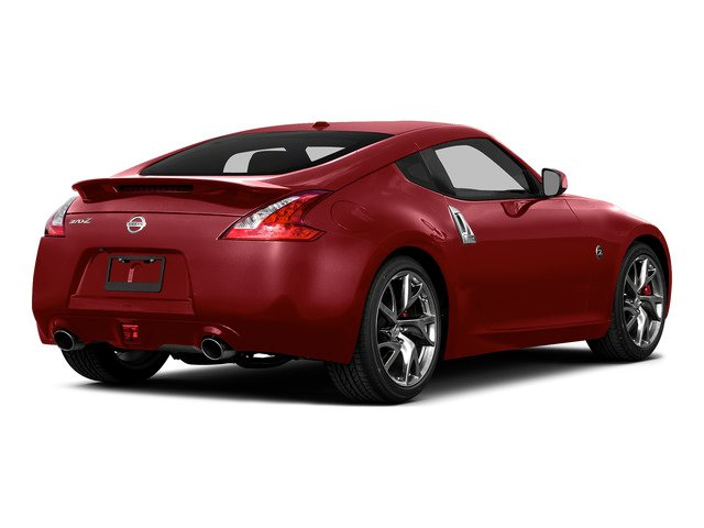 Solid Red 2016 Nissan 370Z Pictures 370Z Coupe 2D V6 photos rear view