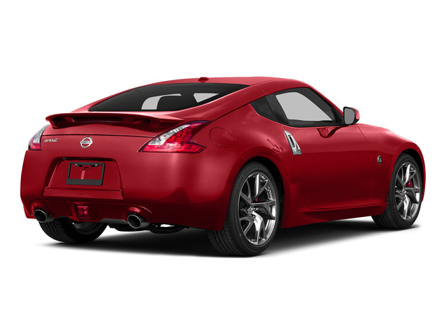 Magma Red 2016 Nissan 370Z Pictures 370Z Coupe 2D V6 photos rear view