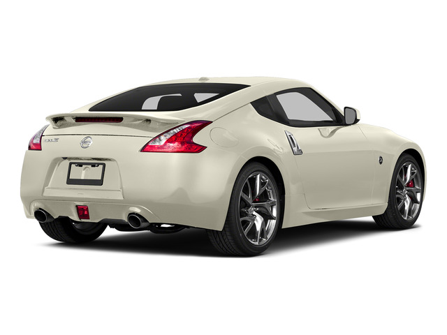 Pearl White 2016 Nissan 370Z Pictures 370Z Coupe 2D V6 photos rear view