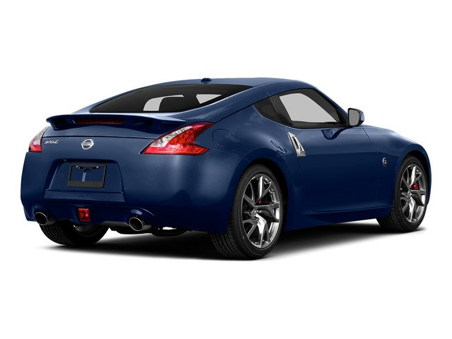 Deep Blue Pearl 2016 Nissan 370Z Pictures 370Z Coupe 2D V6 photos rear view