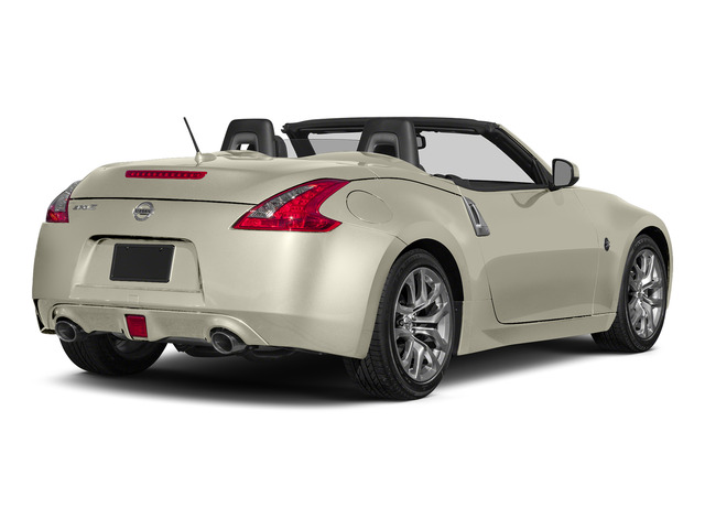 Pearl White 2016 Nissan 370Z Pictures 370Z Roadster 2D Touring Sport V6 photos rear view