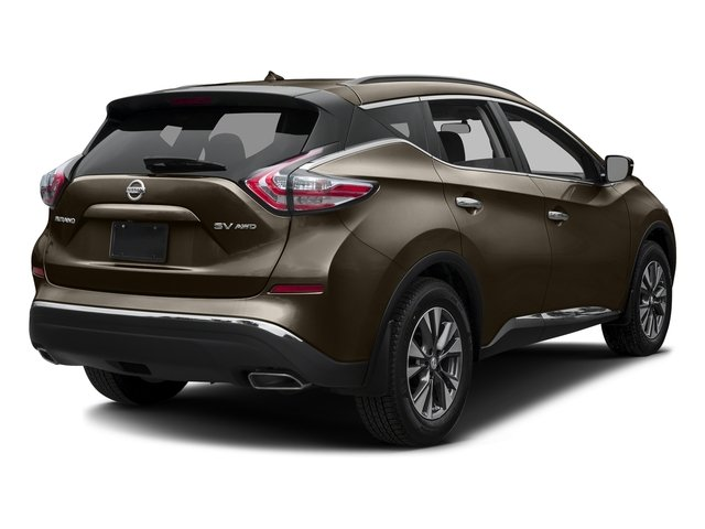 Java Metallic 2016 Nissan Murano Pictures Murano Utility 4D S 2WD V6 photos rear view