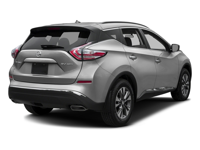 Brilliant Silver Metallic 2016 Nissan Murano Pictures Murano Utility 4D S AWD V6 photos rear view