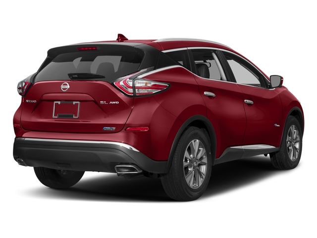 Cayenne Red Metallic 2016 Nissan Murano Pictures Murano Utility 4D SL 2WD I4 Hybrid photos rear view