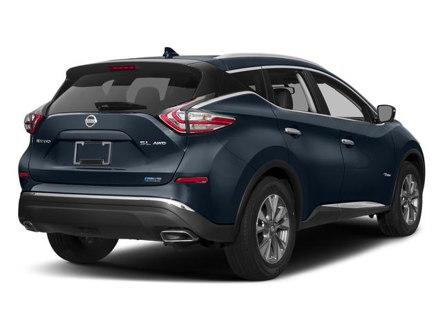 Arctic Blue Metallic 2016 Nissan Murano Pictures Murano Utility 4D SL 2WD I4 Hybrid photos rear view