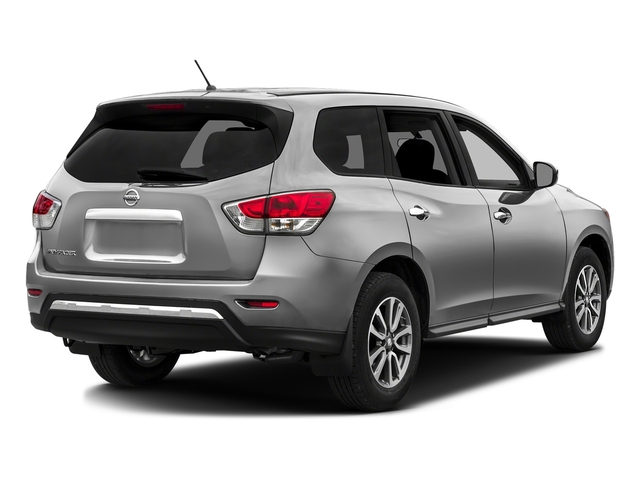 Brilliant Silver Metallic 2016 Nissan Pathfinder Pictures Pathfinder Utility 4D SV 2WD V6 photos rear view
