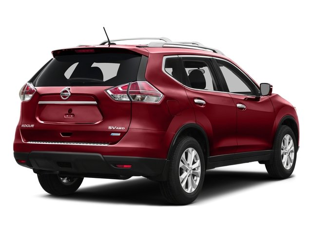 Cayenne Red 2016 Nissan Rogue Pictures Rogue Utility 4D SV AWD I4 photos rear view