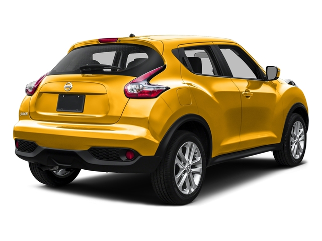 Solar Yellow 2016 Nissan JUKE Pictures JUKE Utlity 4D S 2WD I4 Turbo photos rear view