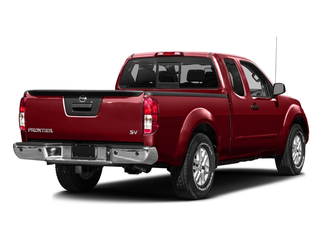 Lava Red 2016 Nissan Frontier Pictures Frontier King Cab SV 2WD photos rear view