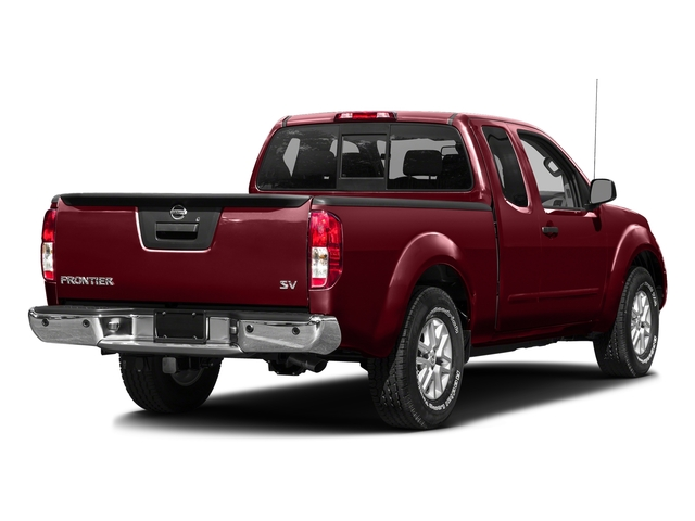 Cayenne Red 2016 Nissan Frontier Pictures Frontier King Cab SV 2WD photos rear view