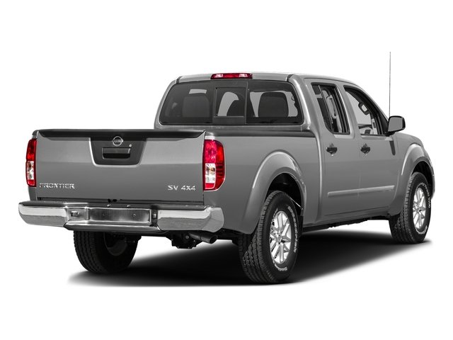 Brilliant Silver 2016 Nissan Frontier Pictures Frontier Crew Cab SV 4WD photos rear view