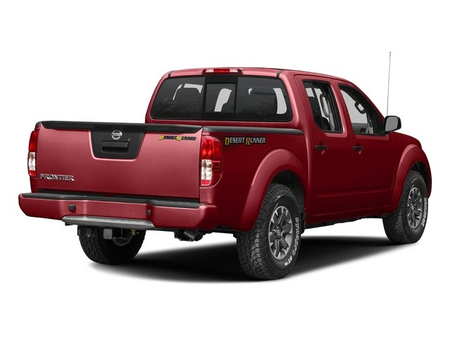 Lava Red 2016 Nissan Frontier Pictures Frontier Crew Cab Desert Runner 2WD photos rear view